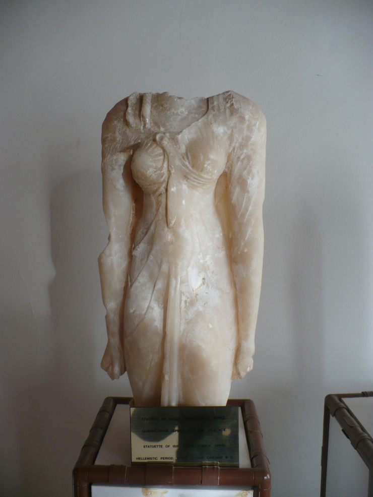 Statue of goddess - Ohrid museum